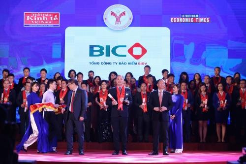 BIC lần thứ 8 được bình chọn là thương hiệu mạnh Việt Nam