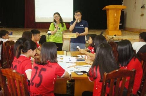 Standard Chartered Việt Nam đào tạo kiến thức tài chính cho học sinh