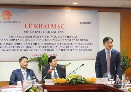 Samsung đào tạo 200 chuyên gia Việt Nam ngành công nghiệp hỗ trợ