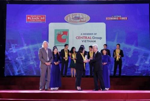 Big C vinh dự nhận giải thưởng Rồng Vàng 2017 - 2018