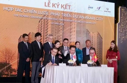 Nam Long và đối tác Nhật hợp tác triển khai dự án 7.676 tỷ đồng