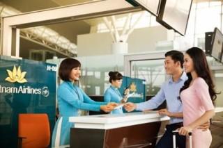 Vietnam Airlines bố trí lại quầy làm thủ tục cho hành khách ưu tiên