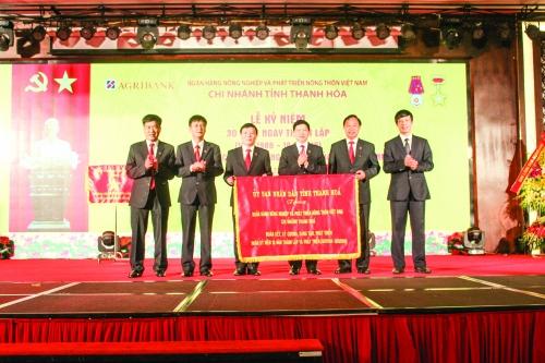 Agribank Thanh Hóa: Giá trị một thương hiệu dẫn đầu