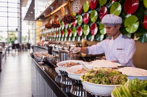 Tiệc buffet mừng lễ Giỗ tỗ Hùng Vương tại Grand Mercure Danang