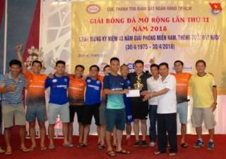 TP.HCM: Giải bóng đá giao hữu kỷ niệm ngày Thống nhất đất nước