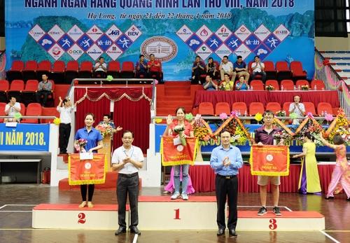 Sôi nổi Hội thao ngành Ngân hàng tỉnh Quảng Ninh năm 2018