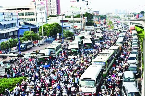 Ùn tắc giao thông: Bài toán nan giải của đô thị hóa