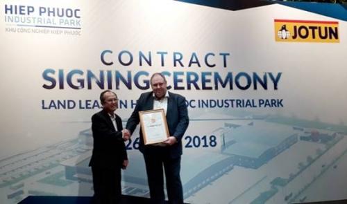 Sơn Jotun đầu tư 70 triệu USD vào TP.Hồ Chí Minh