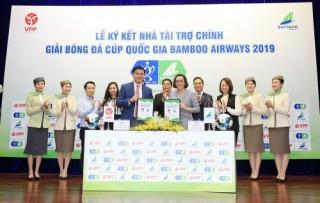 Bamboo Airways chính thức là nhà tài trợ chính giải Cúp Quốc gia 2019