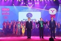 Phú Long được vinh danh Top 10 thương hiệu mạnh Việt Nam 2018