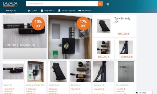 Xử lý hành vi mua bán các thiết bị nguy hại trên Lazada.vn