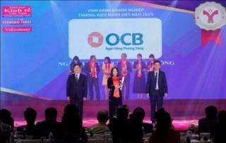 OCB  nhận giải thưởng Thương hiệu Mạnh Việt Nam