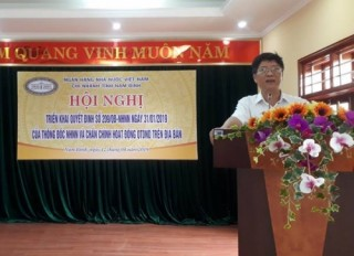 Ngành Ngân hàng Nam Định chấn chỉnh hoạt động QTDND trên địa bàn
