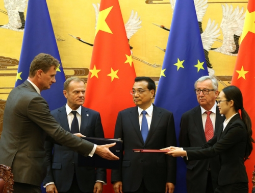 Trung Quốc tăng cường hợp tác với EU