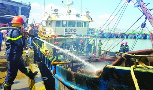 Lập lại trật tự tàu hoạt động nghề cá
