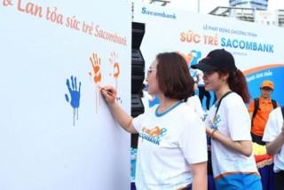 Sacombank mở nhiều hoạt động chăm sóc nhân sự