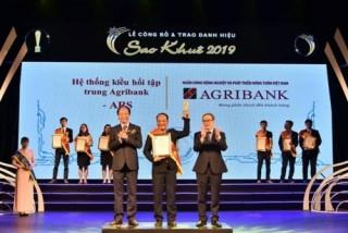 Agribank được vinh danh 2 hạng mục Giải thưởng Sao Khuê 2019