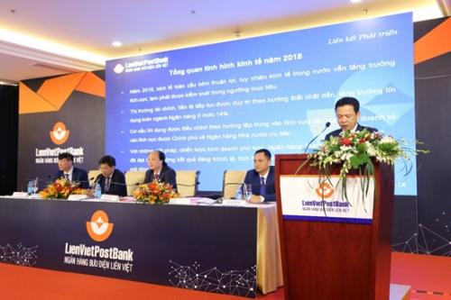 LienVietPostBank đặt mục tiêu lợi nhuận năm 2019 tăng 57%