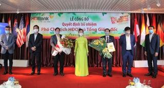 HDBank bổ nhiệm Phó Chủ tịch Hội đồng quản trị và Tổng giám đốc
