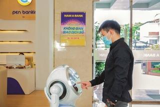 Ngân hàng dùng Robot giao dịch trong thời cách ly