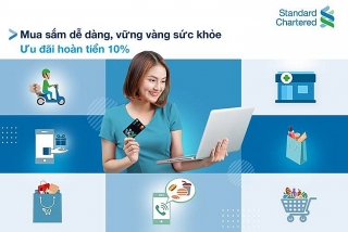 Standard Chartered Việt Nam hoàn tiền cho chủ thẻ tín dụng