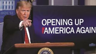 Ông Trump tính chuyện mở cửa lại nền kinh tế Mỹ