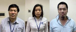 Khởi tố và bắt tạm giam Giám đốc Trung tâm kiểm soát bệnh tật Hà Nội