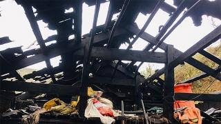 Nhiều nhà dân vỡ nát sau trận mưa đá thứ 6 ở Lai Châu