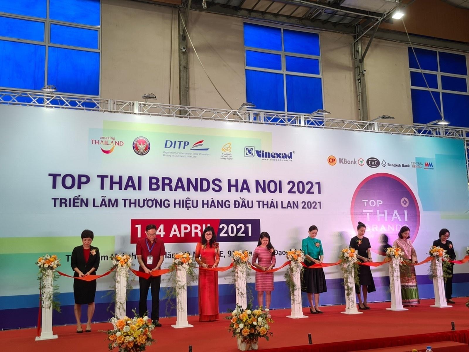 trien lam thuong hieu hang dau thai lan 2021 thu hut 90 gian hang