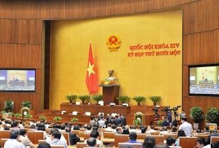 Quốc hội miễn nhiệm Phó Chủ tịch nước và một số ủy viên Ủy ban Thường vụ Quốc hội