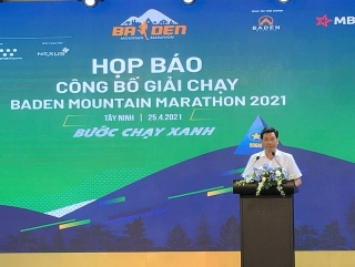 """Tây Ninh:2.500 vận động viên dự giải marathon thân thiện môi trường """"Bước chạy xanh"""""""