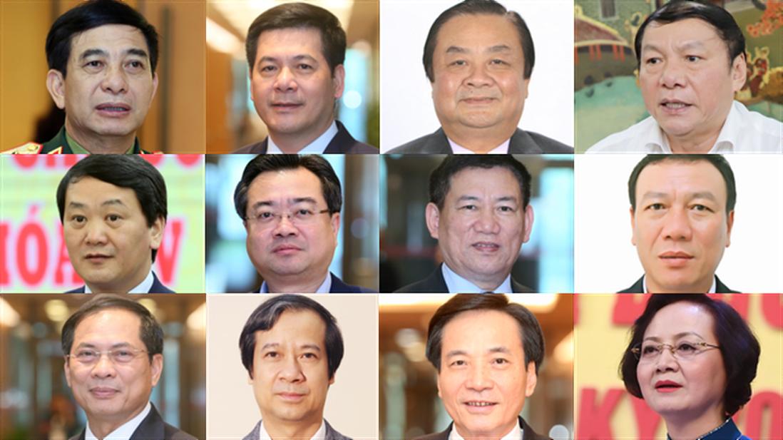 Thủ tướng trình Quốc hội phê chuẩn 2 Phó Thủ tướng và 12 Bộ trưởng