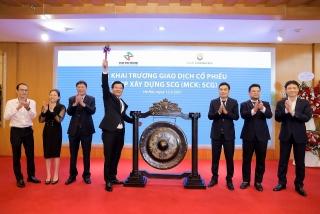 50 triệu cổ phiếu SCG chính thức chào sàn