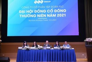 Đại hội cổ đông FLC 2021: FLC tri ân lớn cho cổ đông, đặt mục tiêu lãi gấp 3 lần 2020, cổ tức 10%