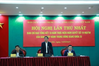 Hội nghị Tổng kết Nghị quyết 19-NQ/TW về tiếp tục đổi mới chính sách, pháp luật về đất đai