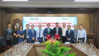 BIC và PVIRegiao dịch tái bảo hiểm qua cổng điện tử