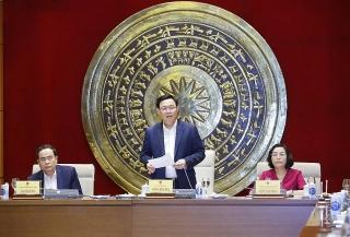 Chủ tịch Quốc hội Vương Đình Huệ:Bố trí các trường hợp đại biểu không tái cử nhưng vẫn còn tuổi công tác