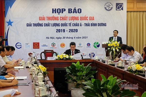 116 doanh nghiep dat giai thuong chat luong quoc gia