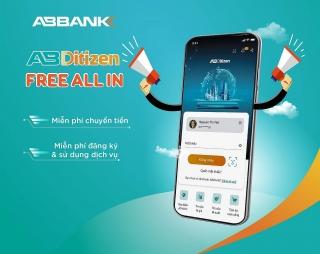 Ngân hàng số AB Ditizen: Số tài khoản trùng số điện thoại và 0 đồng phí dịch vụ