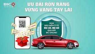 Nhận quà tới 1,5 triệu đồng khi mua bảo hiểm vật chất ô tô tại BIC