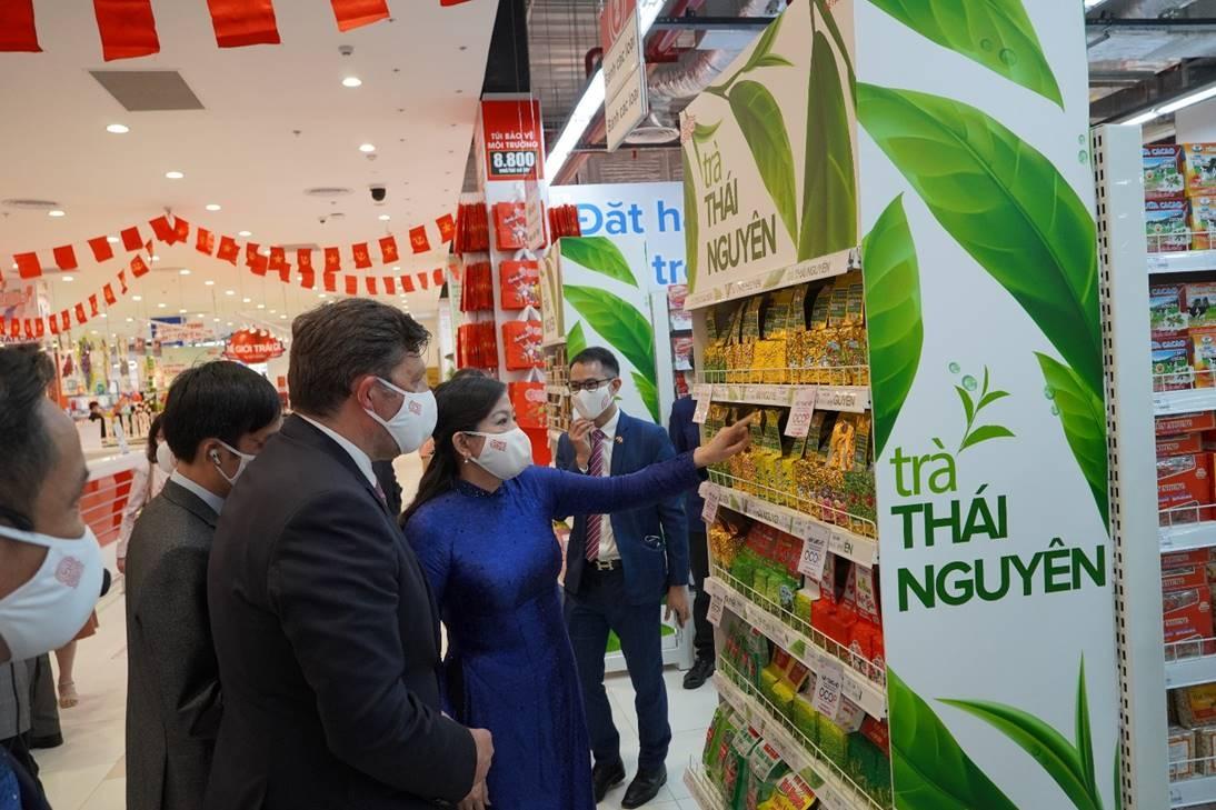 central retail khai truong trung tam thuong mai lon nhat co tong dien tich 36000 m2 tai thai nguyen