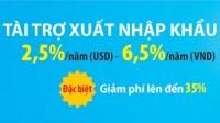 Thêm ưu đãi cho các DN xuất nhập khẩu tại Eximbank