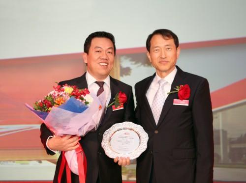 Thaco - Nhà phân phối xe Kia xuất sắc nhất châu Á