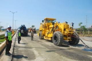 BK-ECC ứng dụng công nghệ mới vào sửa chữa công trình đường bộ