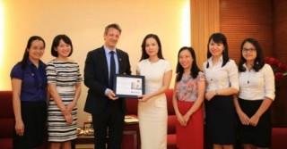 LienVietPostBank tiếp tục nhận giải thưởng của tổ chức tài chính quốc tế lớn