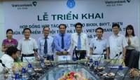 Vietcombank đẩy mạnh hợp tác thu BHXH, BHYT, BHTN trên địa bàn tỉnh Hà Tĩnh