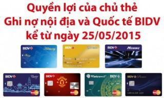 BIDV cam kết đảm bảo quyền lợi của chủ thẻ MHB cũ