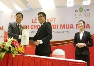 Novaland ký kết cùng VPBank bảo lãnh người mua nhà