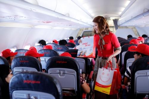 Vietjet Air tiếp tục tung hàng triệu vé 0 đồng các chặng bay quốc tế