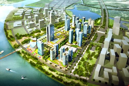 Hơn 20.000 tỷ đồng xây khu phức hợp thông minh ở Thủ Thiêm